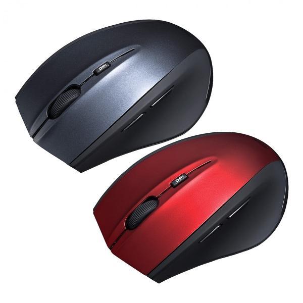 マウス ワイヤレス 無線 静音 5ボタン|sanwadirect|14