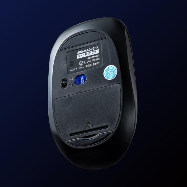 マウス ワイヤレスマウス Bluetooth 無線 薄型(即納)|sanwadirect|14