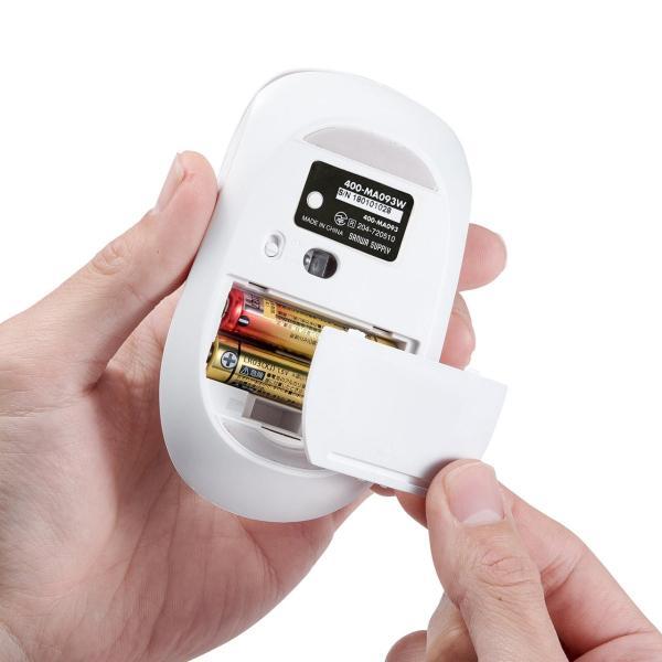 マウス ワイヤレスマウス Bluetooth 無線 薄型(即納)|sanwadirect|15