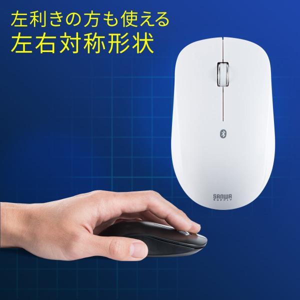 マウス ワイヤレスマウス Bluetooth 無線 薄型(即納)|sanwadirect|08
