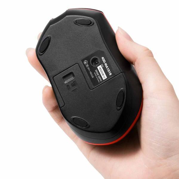 ワイヤレスマウス 無線 マウス 光学式 3ボタン 長持ち(即納)|sanwadirect|13