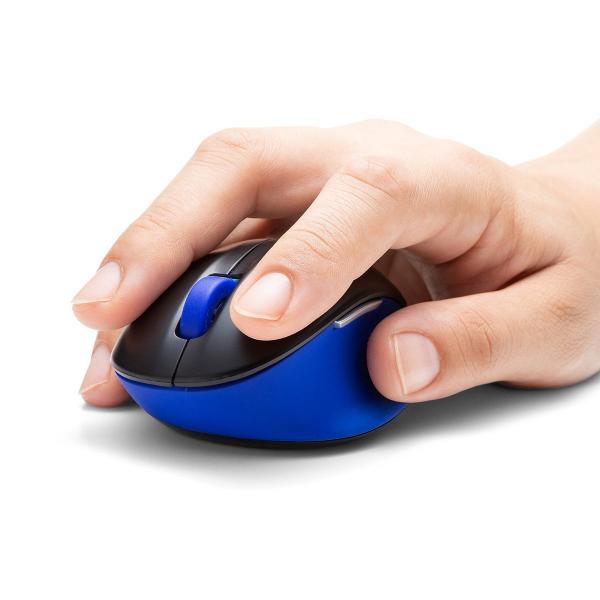 ワイヤレス マウス エルゴノミクス 疲労軽減 小型 コンパクト 4ボタン(即納)|sanwadirect|16