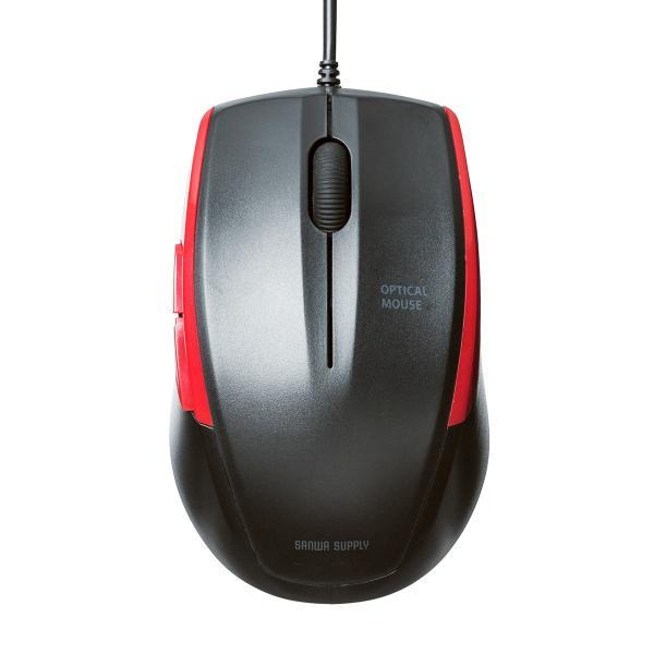 マウス 有線 静音 5ボタン(即納)|sanwadirect|13