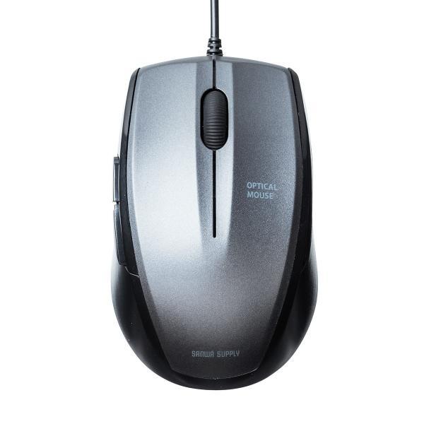 マウス 有線 静音 5ボタン(即納)|sanwadirect|14