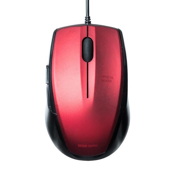 マウス 有線 静音 5ボタン(即納)|sanwadirect|15