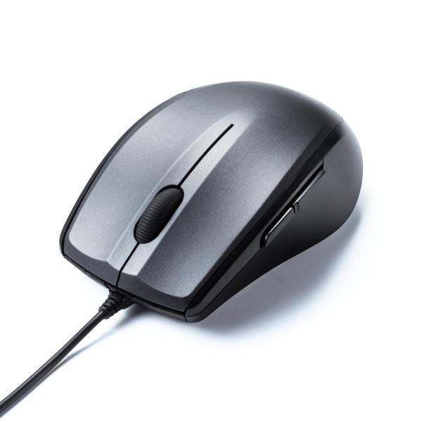 マウス 有線 静音 5ボタン(即納)|sanwadirect|20