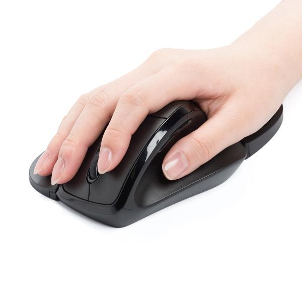 エルゴマウス 左利き ワイヤレス マウス 無線 腱鞘炎 予防 疲れにくい エルゴノミクス(即納)|sanwadirect|16