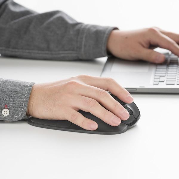 エルゴマウス 左利き ワイヤレス マウス 無線 腱鞘炎 予防 疲れにくい エルゴノミクス(即納)|sanwadirect|17