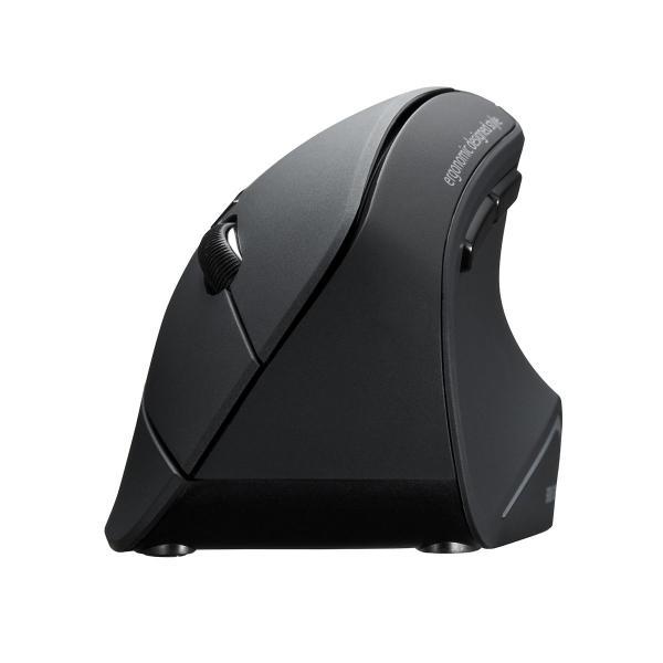 エルゴノミクスマウス Bluetooth ブルートゥース エルゴ 無線  6ボタン|sanwadirect|18