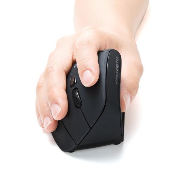 エルゴノミクスマウス Bluetooth ブルートゥース エルゴ 無線  6ボタン|sanwadirect|19