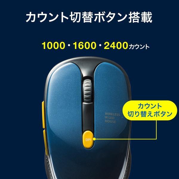 ワイヤレスマウス  静音 無線(即納)|sanwadirect|11