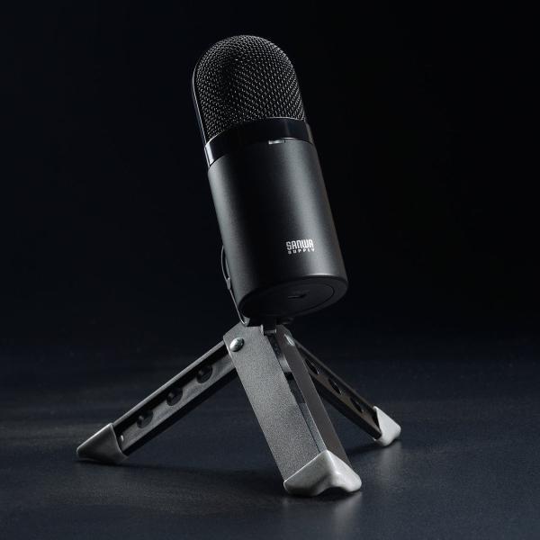 USB マイク iPhoneマイク 録音 レコーディング 高音質 ハイレゾ マイクロフォン(即納)|sanwadirect|11