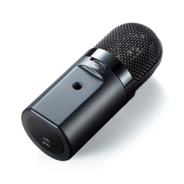 USB マイク iPhoneマイク 録音 レコーディング 高音質 ハイレゾ マイクロフォン(即納)|sanwadirect|14