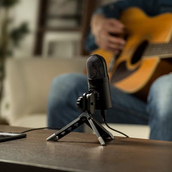 USB マイク iPhoneマイク 録音 レコーディング 高音質 ハイレゾ マイクロフォン(即納)|sanwadirect|09