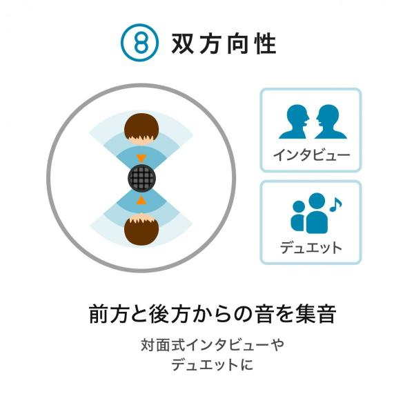 USBマイク 高音質 ハイレゾ録音 PC パソコン マイクロフォン(即納)|sanwadirect|10