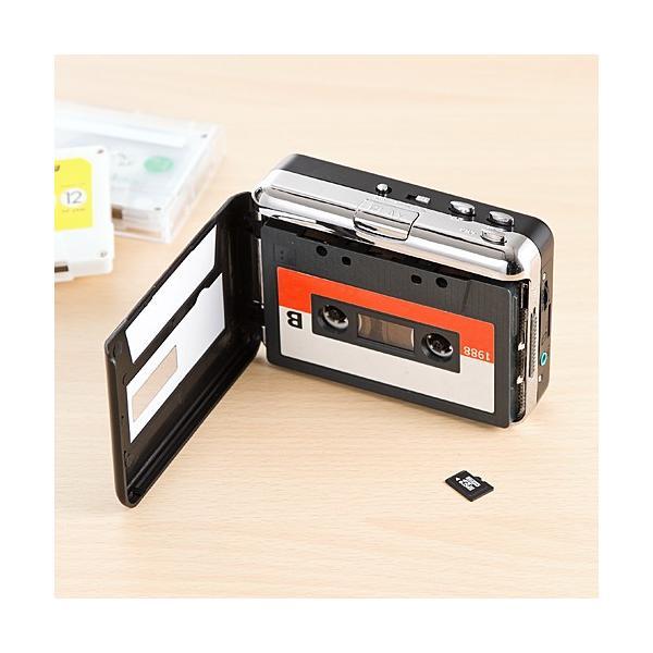 カセットテープ デジタル化 microSD変換プレーヤー MP3変換(即納)|sanwadirect|12