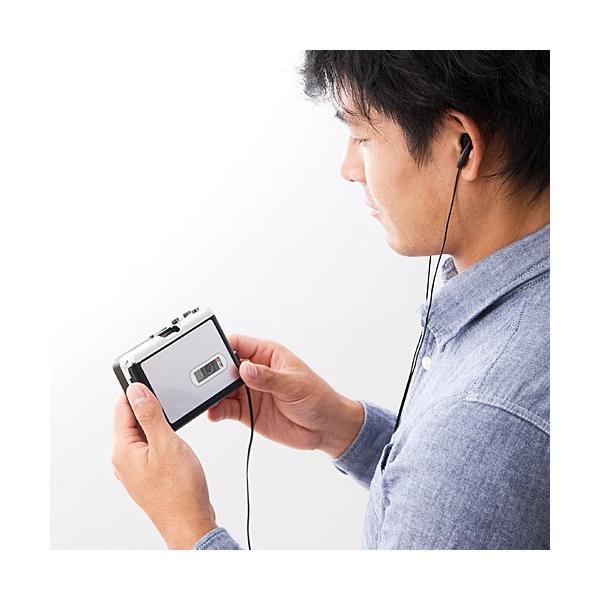 カセットテープ デジタル化 microSD変換プレーヤー MP3変換(即納)|sanwadirect|09