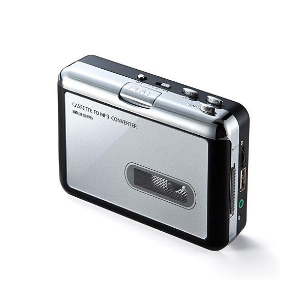 カセットテープ デジタル化 カセットテープ変換プレーヤー MP3変換 USB保存(即納)|sanwadirect|13