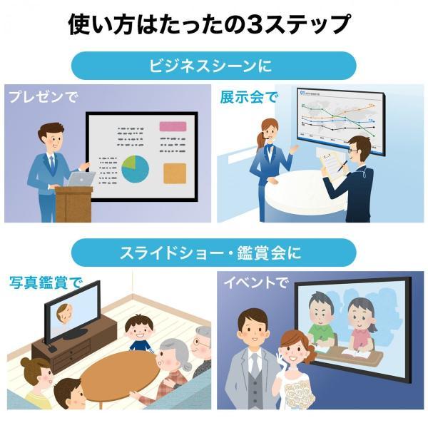 メディアプレーヤー HDMI USBメモリ SDカード メディアプレイヤー|sanwadirect|03