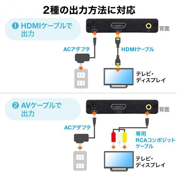 メディアプレーヤー HDMI USBメモリ SDカード メディアプレイヤー|sanwadirect|10