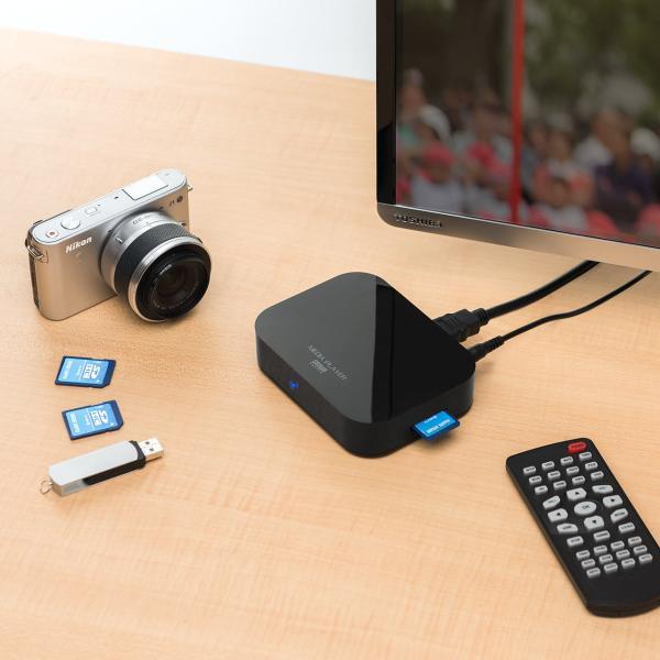 メディアプレーヤー テレビ再生 SDカード USBメモリ 動画 写真 音楽(即納)|sanwadirect|13