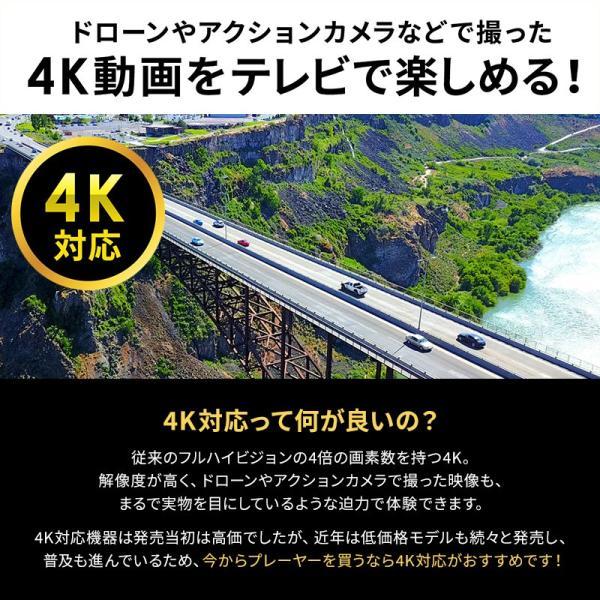 メディアプレーヤー HDMI USBメモリ SDカード メディアプレイヤー 4K対応(即納) sanwadirect 04