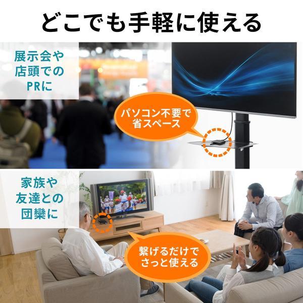 メディアプレーヤー HDMI USBメモリ SDカード メディアプレイヤー 4K対応(即納) sanwadirect 05