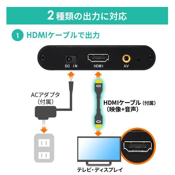 メディアプレーヤー HDMI USBメモリ SDカード メディアプレイヤー 4K対応(即納) sanwadirect 10
