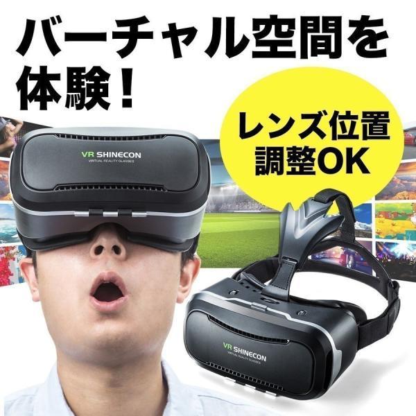 VRゴーグル3DVRiPhoneスマホBOXヘッドセット