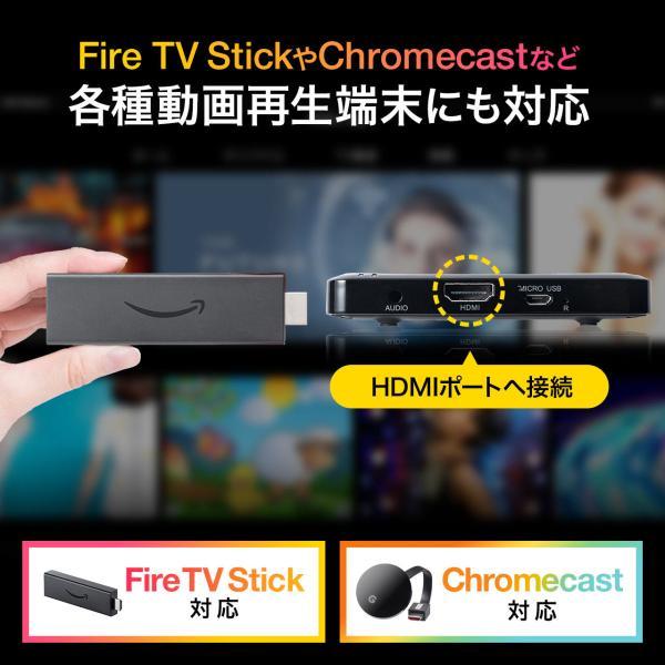 プロジェクター 小型 ポータブル HDMI モバイル ポータブル 家庭用(即納)|sanwadirect|05