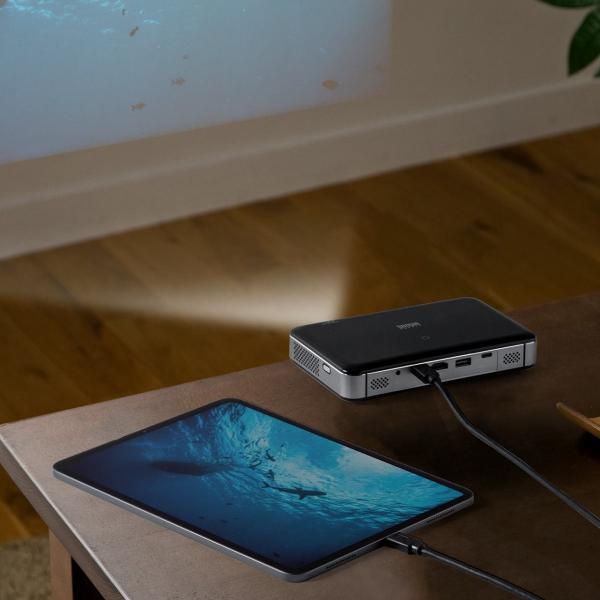 プロジェクター 小型 ポータブル HDMI USB Type-C・HDMI搭載 モバイル コンパクト ミニプロジェクター|sanwadirect|19