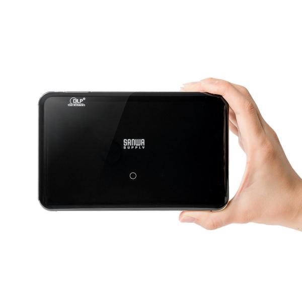 プロジェクター 小型 ポータブル HDMI USB Type-C・HDMI搭載 モバイル コンパクト ミニプロジェクター|sanwadirect|20