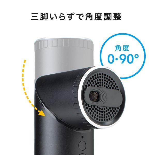 プロジェクター 小型 天井投影 micro HDMI モバイルプロジェクター ミニプロジェクター(即納)|sanwadirect|02