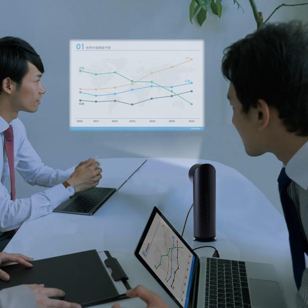 プロジェクター 小型 天井投影 micro HDMI モバイルプロジェクター ミニプロジェクター(即納)|sanwadirect|19