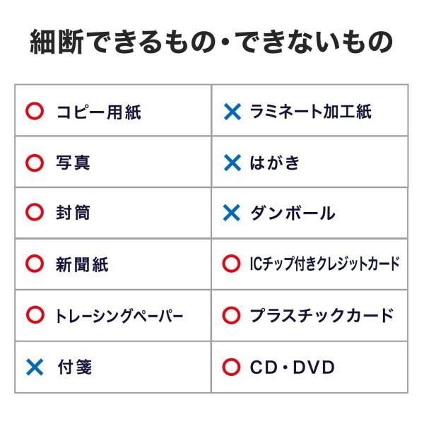 シュレッダー 業務用 電動 クロスカット シュレッター(即納) sanwadirect 12