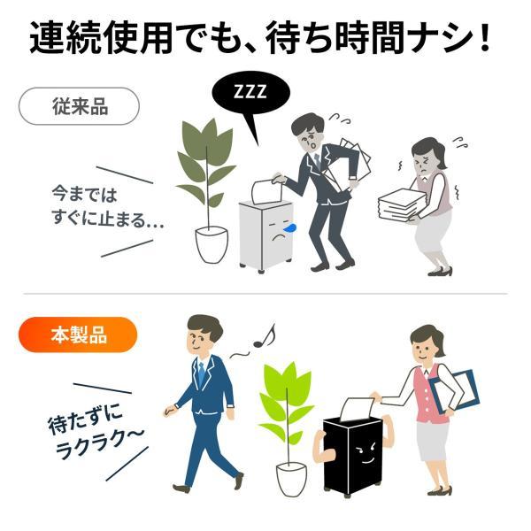 シュレッダー 業務用 電動 シュレッター|sanwadirect|03