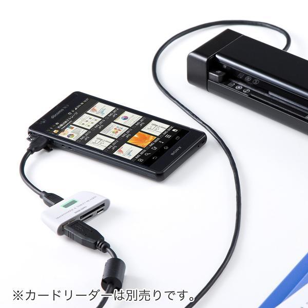写真 スキャナー A4 モバイルスキャナ ハンディ スキャナ フォトスキャナー 自炊(即納)|sanwadirect|07