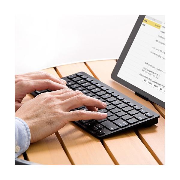 Bluetoothキーボード iPhone iPad ブルートゥース sanwadirect 13