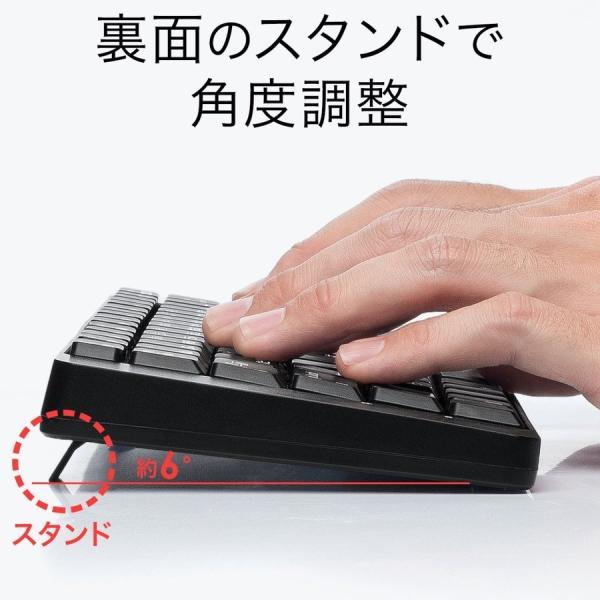 キーボード マウス セット ワイヤレス 静音マウス(即納)|sanwadirect|05