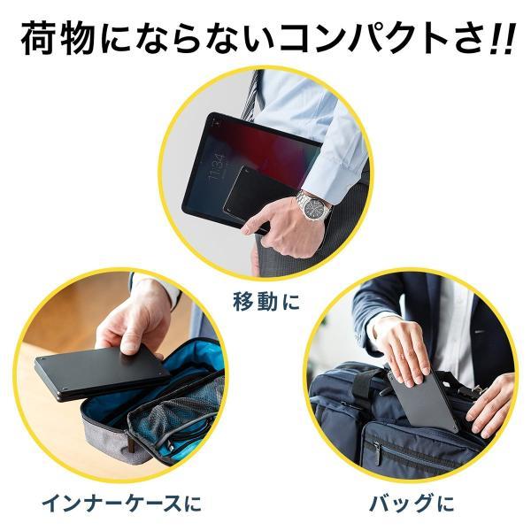 折りたたみキーボード ワイヤレス Bluetooth ブルートゥース 無線 iPhone(即納)|sanwadirect|02