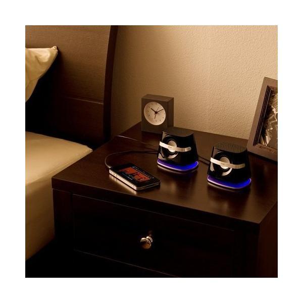 スピーカー 小型 USB PCスピーカー パソコンスピーカー コンパクト 高音質 スピーカー|sanwadirect|14