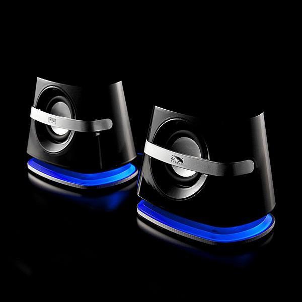 スピーカー 小型 USB PCスピーカー パソコンスピーカー コンパクト 高音質 スピーカー|sanwadirect|15