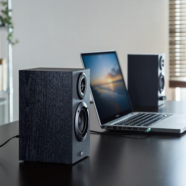 スピーカー PC テレビ スピーカー 高音質 パソコン スピーカ|sanwadirect|13