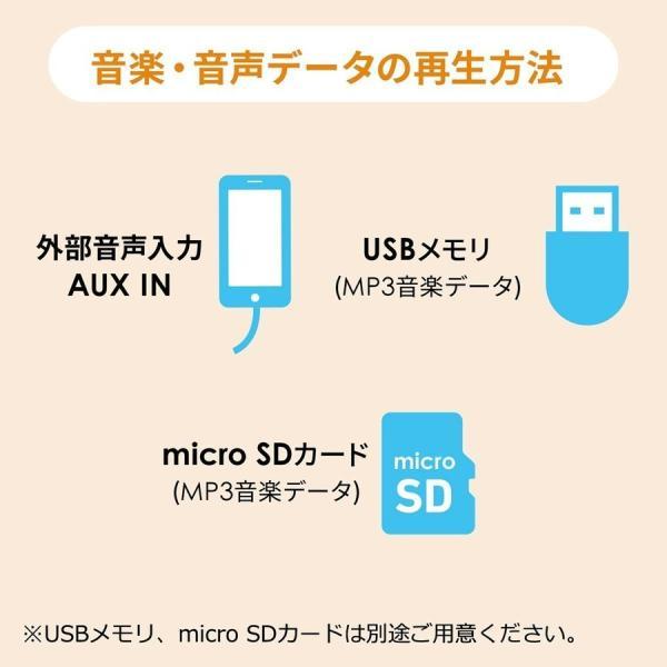 拡声器 ハンズフリー ワイヤレス 小型 ポータブル マイク ハンド フリー 手ぶら 2人同時対応(即納) sanwadirect 11