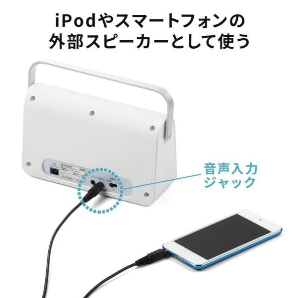 テレビスピーカー 手元スピーカー 耳元 ワイヤレス テレビ用 TV 充電式 高齢者の方(即納)|sanwadirect|09