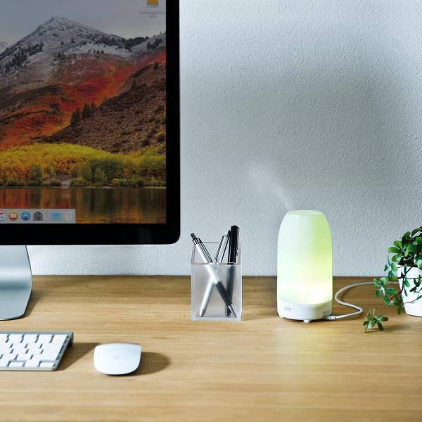 加湿器 卓上 アロマ加湿器 超音波  アロマディフューザー LED おしゃれ(即納)|sanwadirect|13