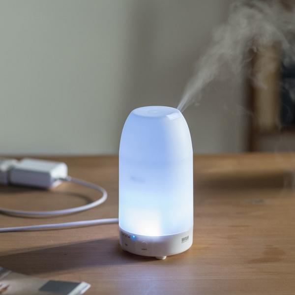 加湿器 卓上 アロマ加湿器 超音波  アロマディフューザー LED おしゃれ(即納)|sanwadirect|19
