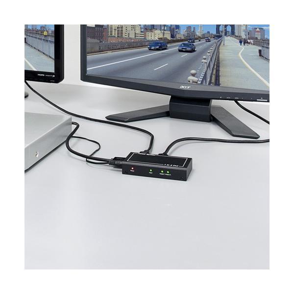 HDMI分配器 スプリッター 1入力 2出力 1080p フルHD(即納)|sanwadirect|02