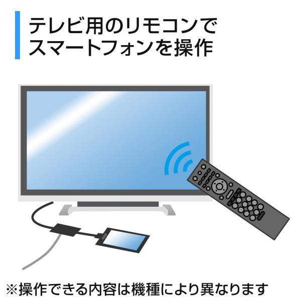 MHL HDMI 変換アダプタ ケーブル リモコン対応(即納)|sanwadirect|04