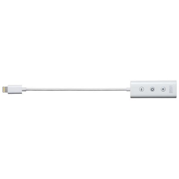 ライトニング イヤホン iPhone7対応 充電ポート内蔵 MFi認証品(即納)|sanwadirect|14